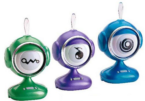 """I Look"" interactive eyeball speakers"