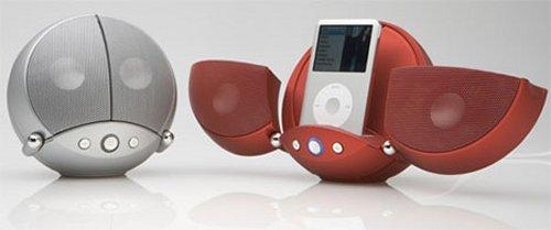 Vestalife's ladybug iPod dock