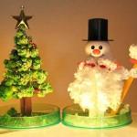 Christmas decorations sponge up the holiday Joy