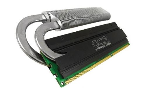 OCZ ReaperX HPC heat pip conduit memory