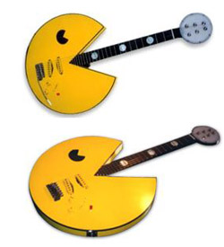 Retro Pac-Man guitar