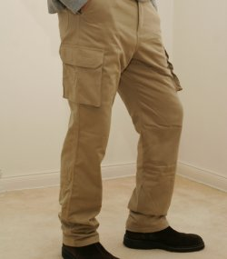 The Far Infrared Heated Cargo Pants