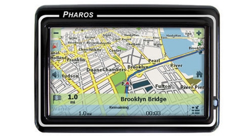 Pharos Drive 250 GPS unit