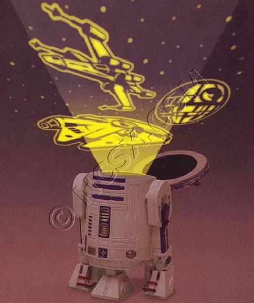 R2D2 night light projector