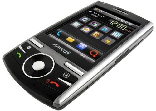 Samsung SPH-M4650 smartphone has multi-touch touchscreen