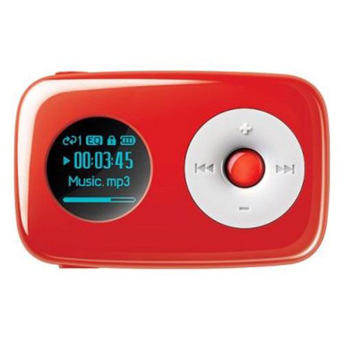 CREATIVE MP3 player sports Target colors - SlipperyBrick.