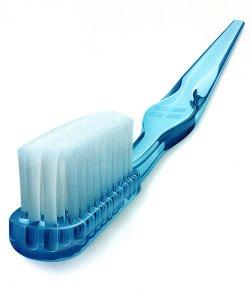Solar powered toothbrush