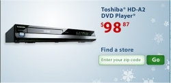 Toshiba says it sold 90,000 of its HD-A2 HD DVD players last weekend