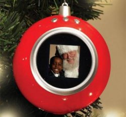 USB Santa's Slide Show Ornament