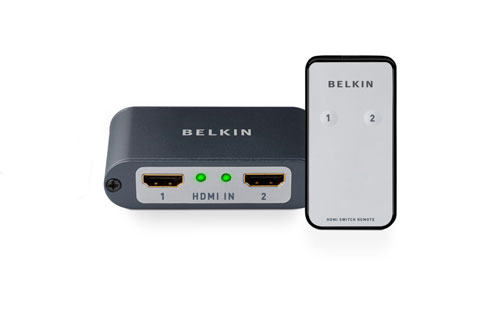 Belkin HDMI 2-to-1 Video Switch
