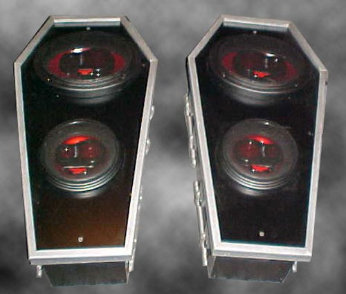 Coffin It Up Coffin Speakers