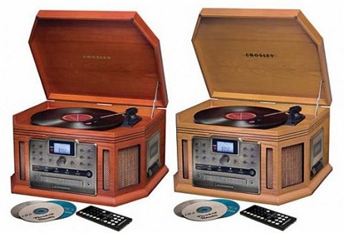 The Crosley Songwriter LP/CD Burner