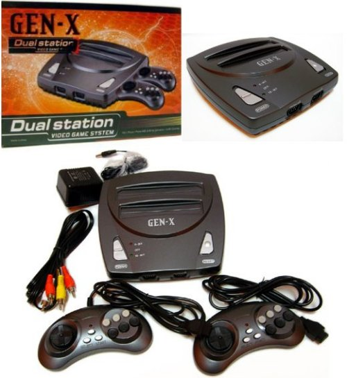 Gen-x console plays Sega Genesis & NES