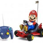 "Giant r/c Mario Kart racer ""Lets-a-go!"""