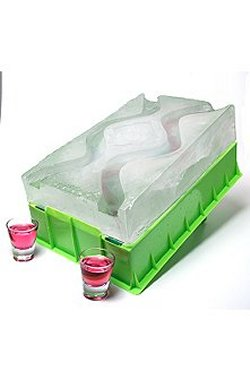 Ice Luge chills drinks Olympic style