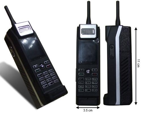 Mini MOB Mobile phone retro brick style