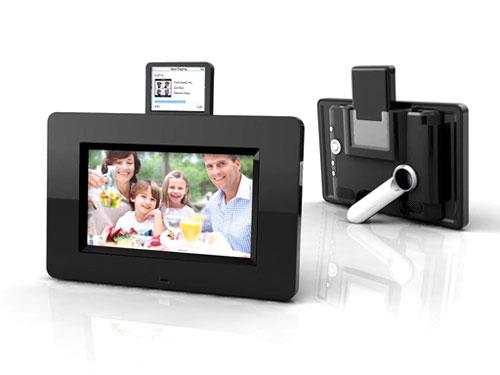 Mustek digital frame does iPod dock duty - SlipperyBrick.com