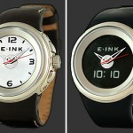 Phosphor watches with E Ink display