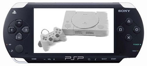 PS1 games playable on the Sony PSP through Remote Play