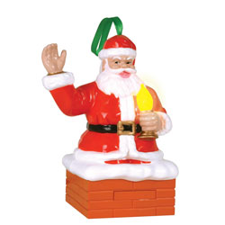 Santa Magic Blowout Ornament