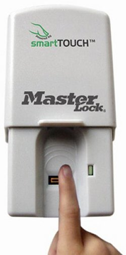 Master Lock smartTOUCH garage door opener