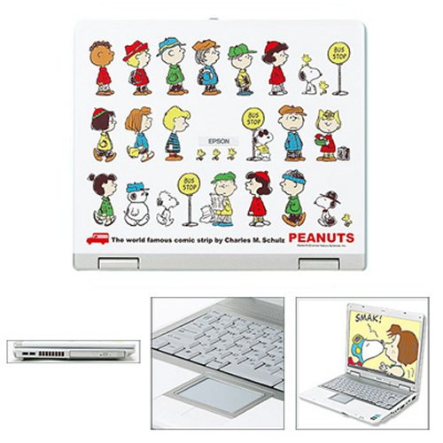 Snoopy laptop for cartoon computing