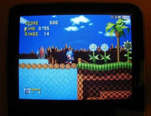 Play Sonic on your iPod