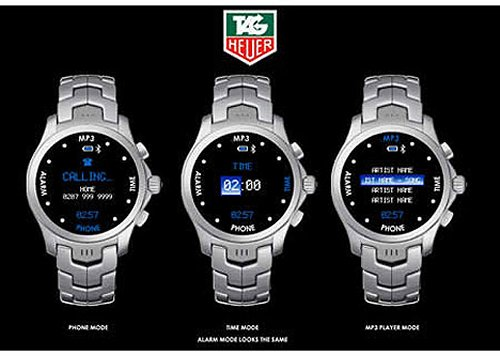 Tag Heuer mobile phone watches