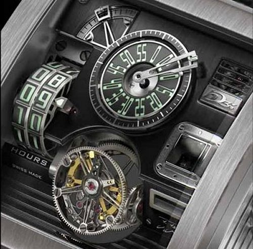 Vulcania might be the coolest watch ever