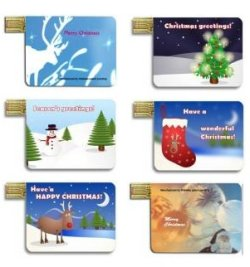Walletex MP3 players now in Christmas themes