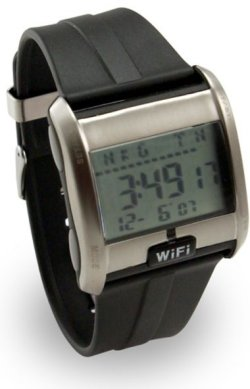 Wi-Fi detector watch