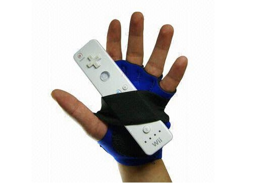 Wii Gamer Glove to help keep a grip on the Wii Remote