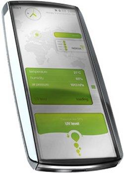 Nokia's Eco Sensor concept phone
