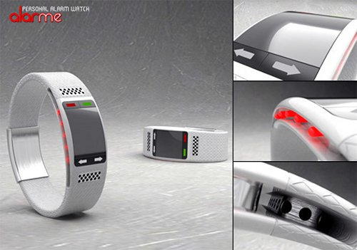 AlarMe watch alerts the hearing impaired