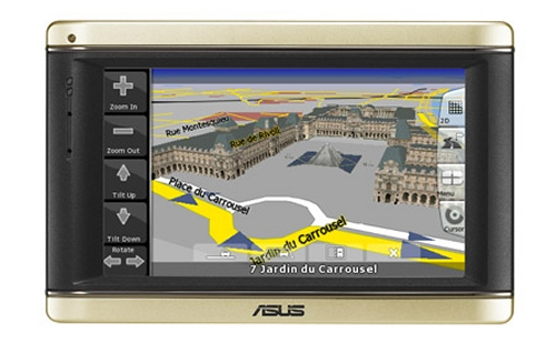 ASUS R700 GPS device with 3D maps