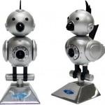 Strange robot-bird webcam