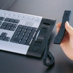Buffalo keyboard & Skype phone combo