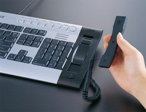 Buffalo keyboard & Skype phone