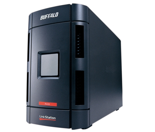 Buffalo LinkStation Pro Duo NAS with RAID drives