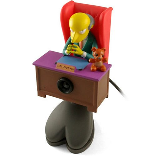 Mr. Burns USB webcam…excellent