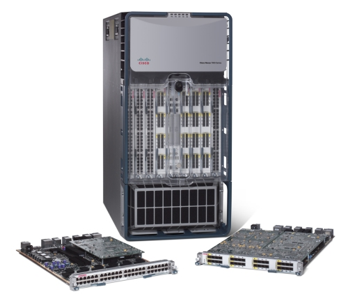 Cisco Nexus 7000 series switch with 10 Gigabit Ethernet