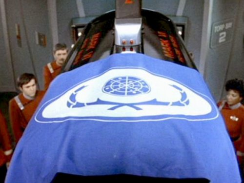 Spock's coffin
