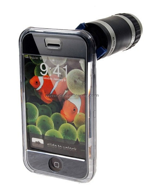 Conice iPhone camera zoom attachment