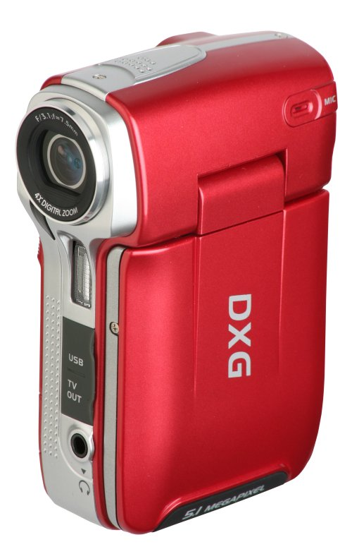 DXG Announces 5 MP Camcorder in New Fashion Colors for only $99
