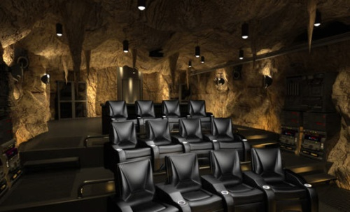 Come To My Bat Cave Home Theater