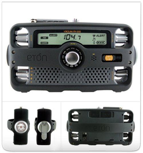 Eton FR100 survival radio launched