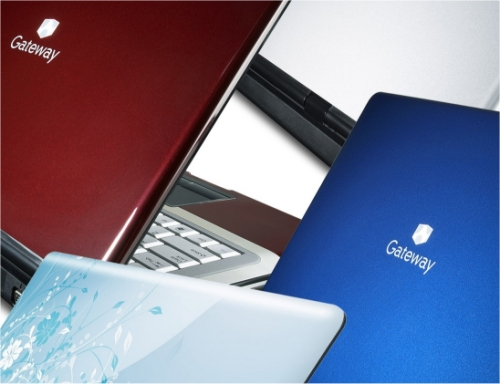 Gateway M Series and T  Series PC notebook line in 5 new colors