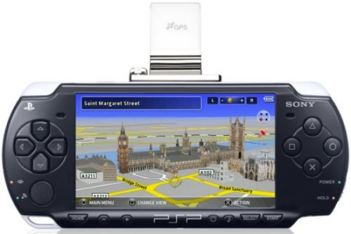 Go!Explore turns your PSP into GPS navigation system