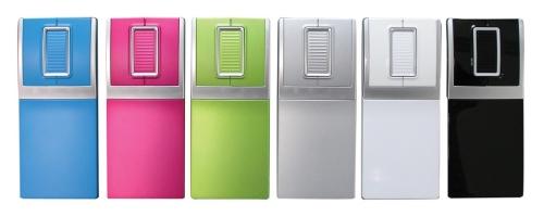 IceRage Pocket Mouse in designer colors and slim design for portable use