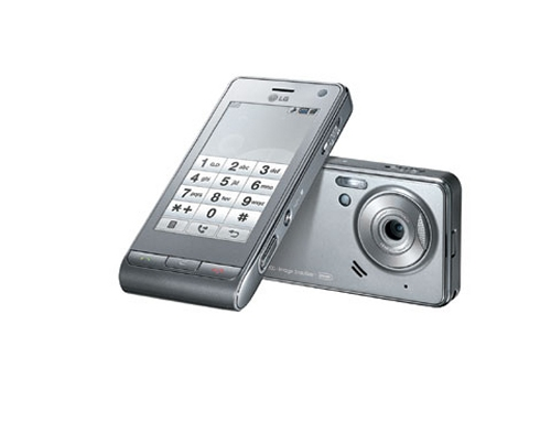LG Viewty mobile camera phone now available in Dark Silver